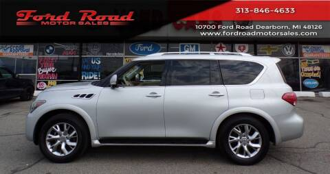 2011 Infiniti QX56 for sale at Ford Road Motor Sales in Dearborn MI