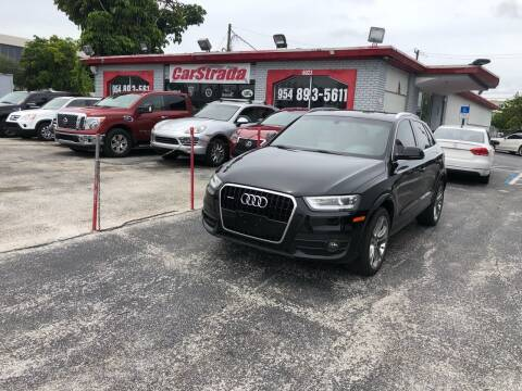 2015 Audi Q3 for sale at CARSTRADA in Hollywood FL