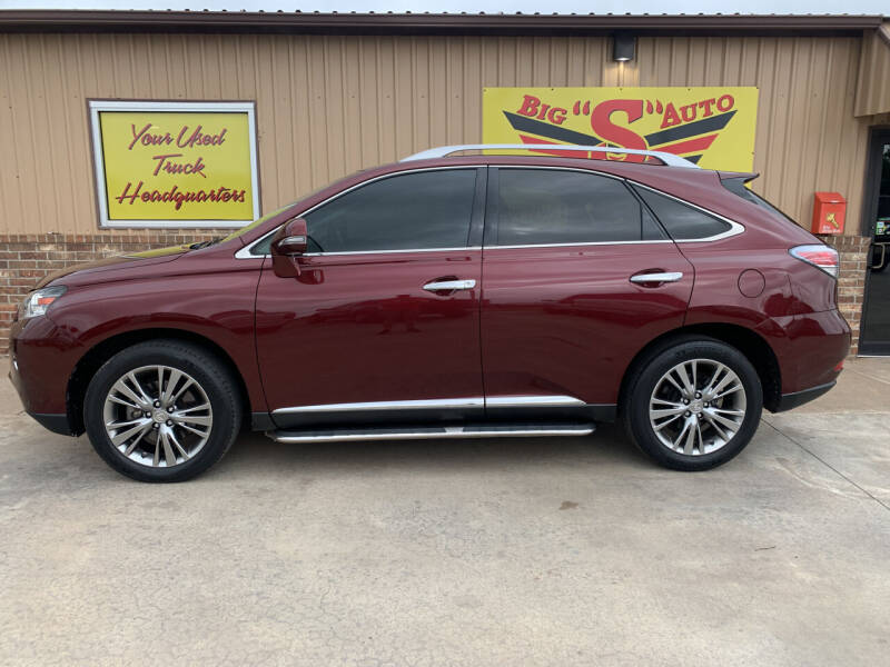 2014 Lexus RX 350 for sale at BIG 'S' AUTO & TRACTOR SALES in Blanchard OK