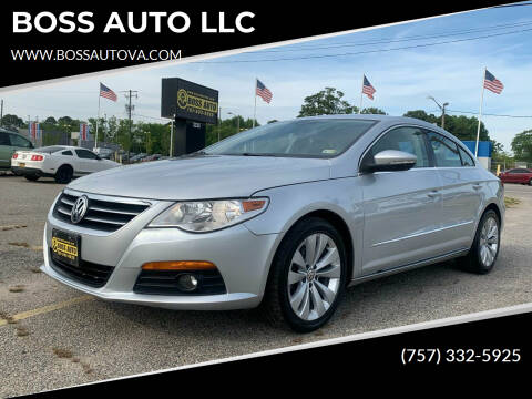 2009 Volkswagen CC for sale at BOSS AUTO LLC in Norfolk VA
