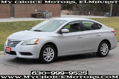 2013 Nissan Sentra for sale at My Choice Motors Elmhurst in Elmhurst IL