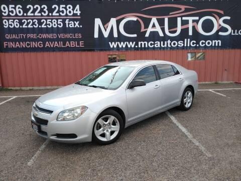 2011 Chevrolet Malibu for sale at MC Autos LLC in Pharr TX