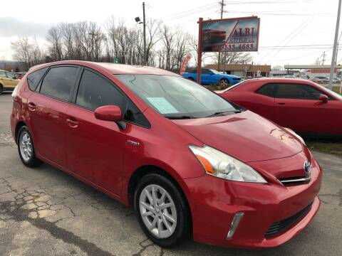 2012 Toyota Prius v for sale at Albi Auto Sales LLC in Louisville KY