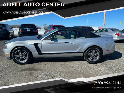 2011 Ford Mustang for sale at ADELL AUTO CENTER in Waldo WI