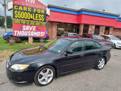 2008 Subaru Legacy for sale at HW Auto Wholesale in Norfolk VA