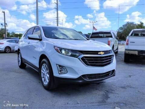 2018 Chevrolet Equinox for sale at Start Auto Liquidation Center in Miramar FL