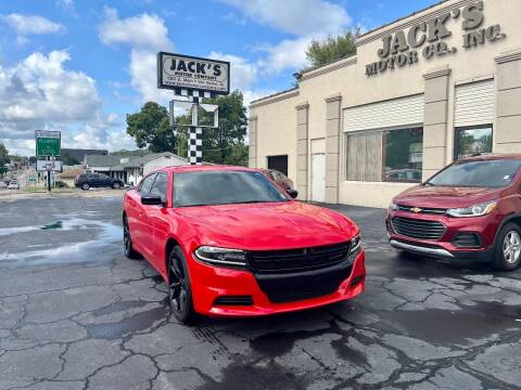 2018 Dodge Charger for sale at JACK'S MOTOR COMPANY in Van Buren AR