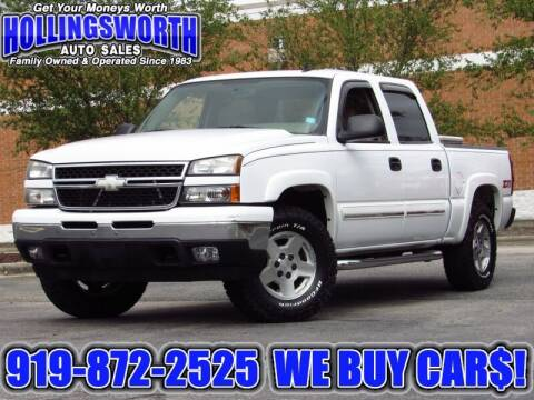 2006 Chevrolet Silverado 1500 for sale at Hollingsworth Auto Sales in Raleigh NC