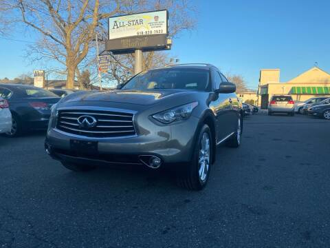 2012 Infiniti FX35 for sale at All Star Auto Sales and Service LLC in Allentown PA