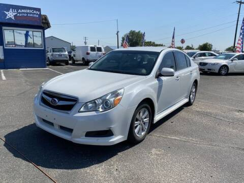 2012 Subaru Legacy for sale at All American Auto Sales LLC in Nampa ID