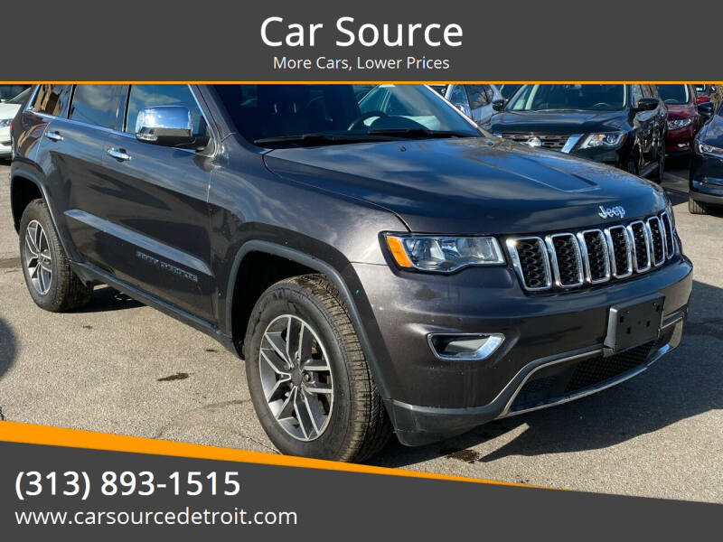 2019 Jeep Grand Cherokee for sale at Car Source in Detroit MI