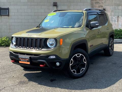 2015 Jeep Renegade for sale at Somerville Motors in Somerville MA