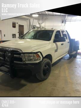 2014 RAM Ram Chassis 3500 for sale at Ramsey Truck Sales LLC in Benton AR