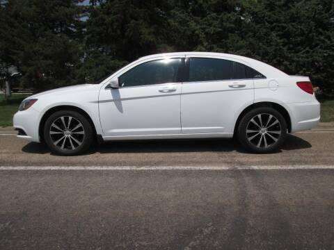 2012 Chrysler 200 for sale at Joe's Motor Company in Hazard NE