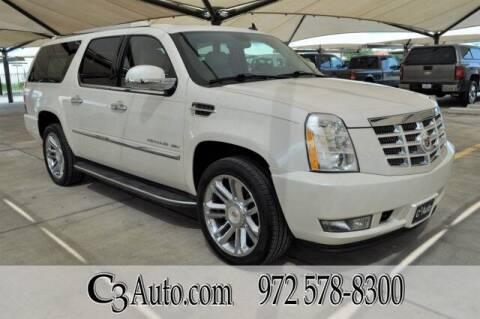 2013 Cadillac Escalade ESV for sale at C3Auto.com in Plano TX
