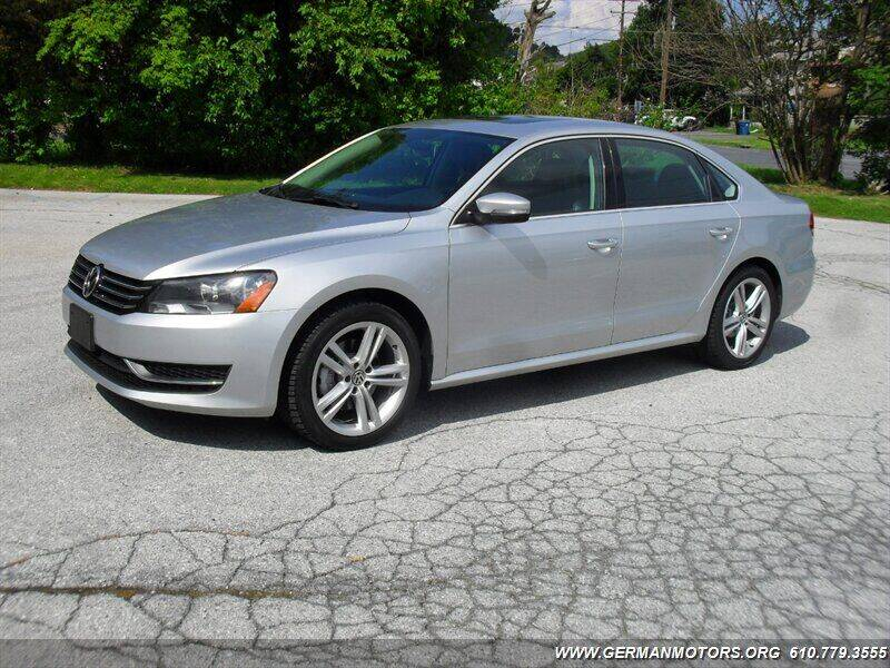 2014 Volkswagen Passat for sale at Mair's Continental Motors in Reading PA