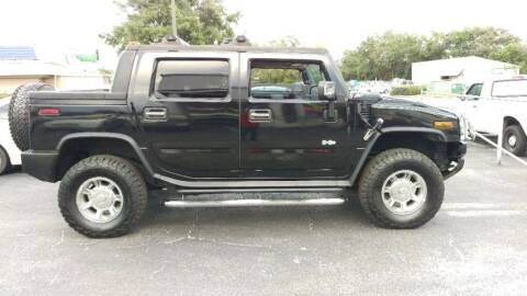2007 HUMMER H2 SUT for sale at Tony's Auto Sales in Jacksonville FL