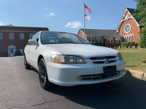 1999 Honda Accord for sale at Automax of Eden in Eden NC