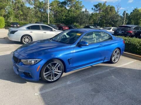 2018 BMW 4 Series for sale at Infiniti Stuart in Stuart FL