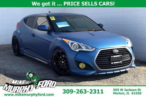 2016 Hyundai Veloster for sale at Mike Murphy Ford in Morton IL