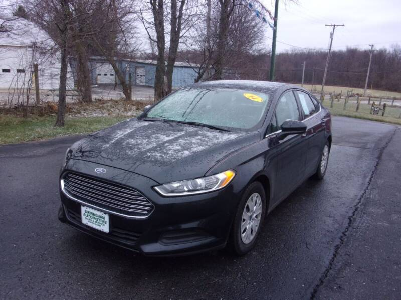 2014 Ford Fusion for sale at Birmingham Automotive in Birmingham OH