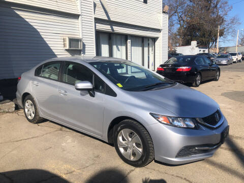 2014 Honda Civic for sale at Chris Auto Sales in Springfield MA