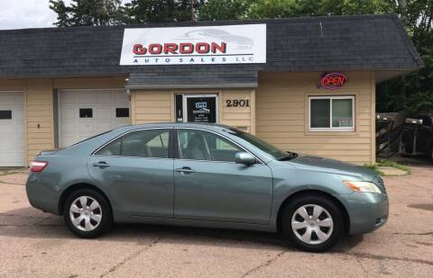 2007 Toyota Camry for sale at Gordon Auto Sales LLC in Sioux City IA
