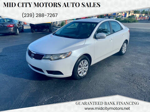 2012 Kia Forte for sale at Mid City Motors Auto Sales in Fort Myers FL