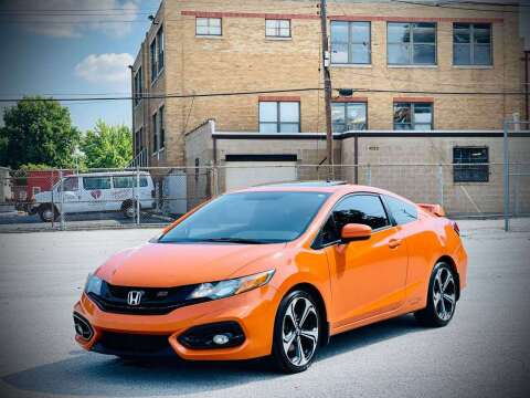 2014 Honda Civic for sale at ARCH AUTO SALES in Saint Louis MO