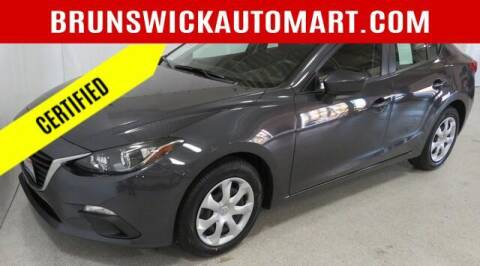 2016 Mazda MAZDA3 for sale at Brunswick Auto Mart in Brunswick OH