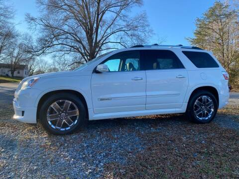 2012 GMC Acadia for sale at Venable & Son Auto Sales in Walnut Cove NC