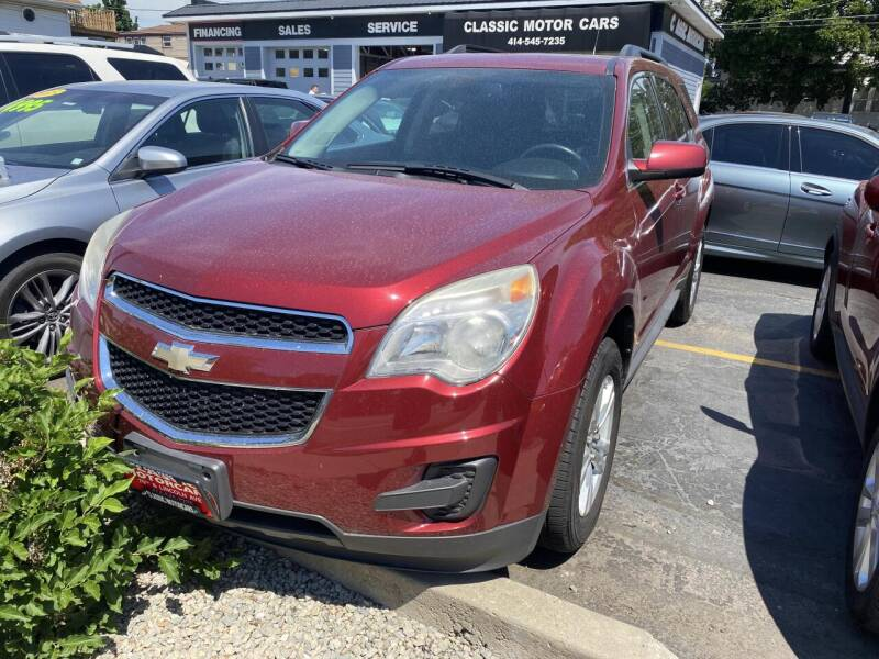 2011 Chevrolet Equinox for sale at CLASSIC MOTOR CARS in West Allis WI