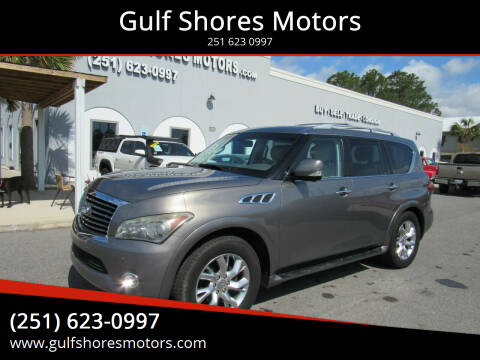 2013 Infiniti QX56 for sale at Gulf Shores Motors in Gulf Shores AL
