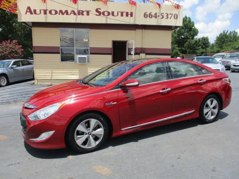 2012 Hyundai Sonata Hybrid for sale at Automart South in Alabaster AL