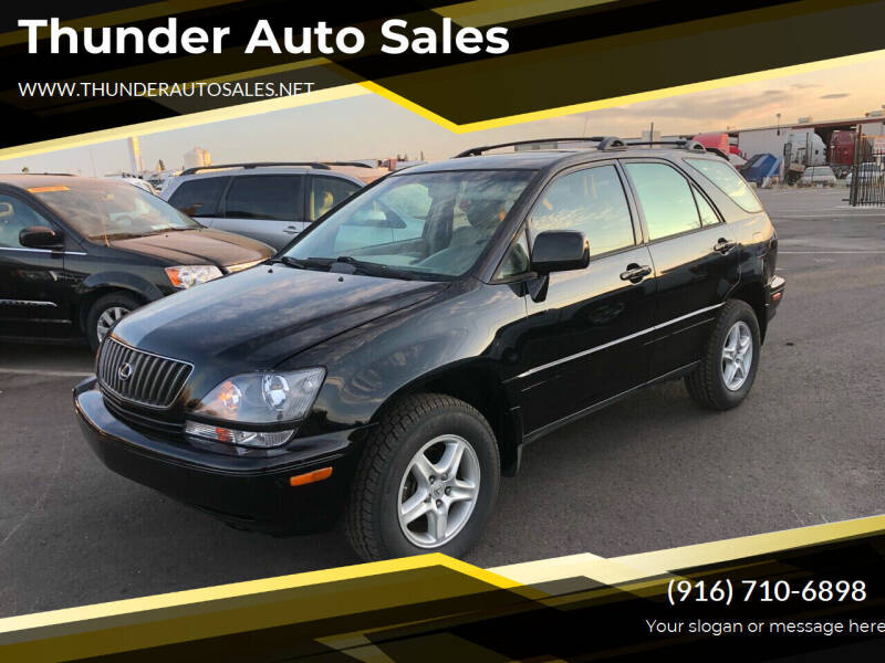 1999 Lexus RX 300 for sale at Thunder Auto Sales in Sacramento CA