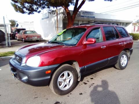 2002 Hyundai Santa Fe for sale at Larry's Auto Sales Inc. in Fresno CA