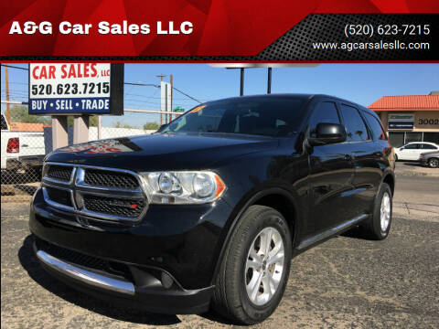 2013 Dodge Durango for sale at A&G Car Sales  LLC in Tucson AZ