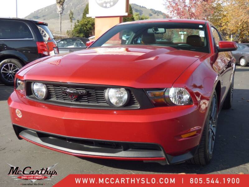 2010 Ford Mustang for sale at McCarthy Wholesale in San Luis Obispo CA