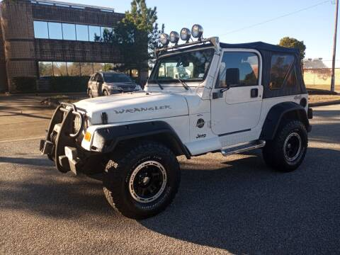 2000 Jeep Wrangler for sale at Affordable Auto Spot in Houston TX