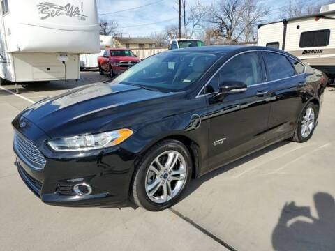 2016 Ford Fusion Energi for sale at Kell Auto Sales, Inc - Grace Street in Wichita Falls TX