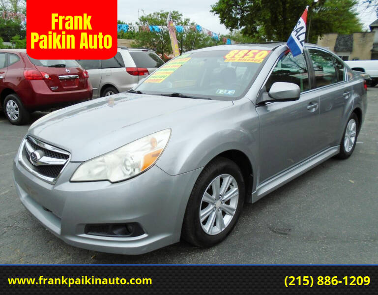 2010 Subaru Legacy for sale at Frank Paikin Auto in Glenside PA