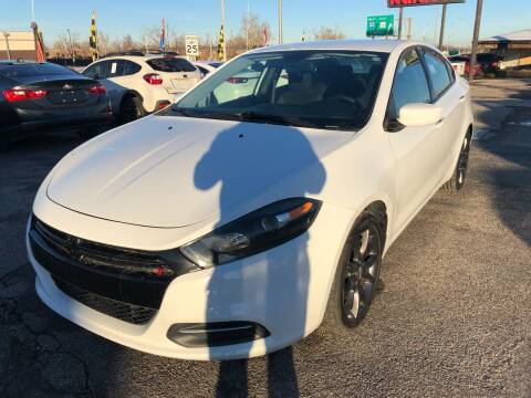 2015 Dodge Dart for sale at Ital Auto in Oklahoma City OK