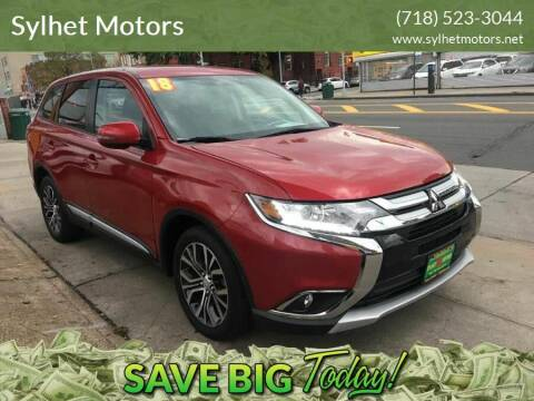 2018 Mitsubishi Outlander for sale at Sylhet Motors in Jamacia NY