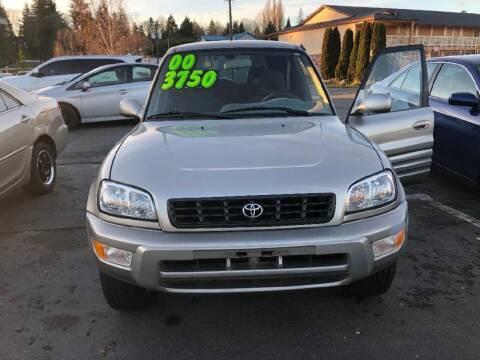 2000 Toyota RAV4 for sale at Bayview Motor Club, LLC in Seatac WA
