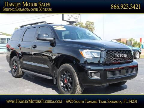 2020 Toyota Sequoia for sale at Hawley Motor Sales in Sarasota FL