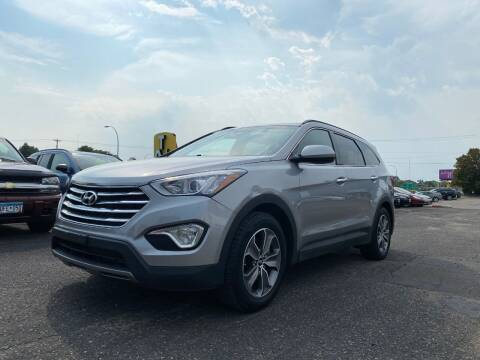 2013 Hyundai Santa Fe for sale at Auto Tech Car Sales and Leasing in Saint Paul MN