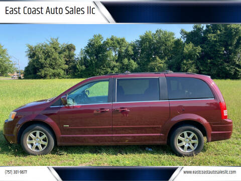 2008 Chrysler Town and Country for sale at East Coast Auto Sales llc in Virginia Beach VA
