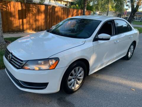 2013 Volkswagen Passat for sale at FINANCIAL CLAIMS & SERVICING INC in Hollywood FL