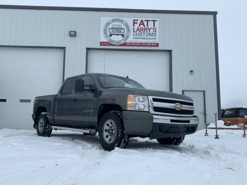 2011 Chevrolet Silverado 1500 for sale at Fatt Larry's Customs in Sugar City ID
