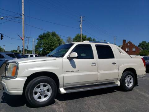 2002 Cadillac Escalade EXT for sale at COLONIAL AUTO SALES in North Lima OH